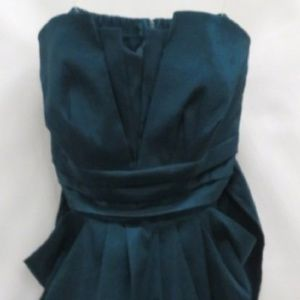 NWT Wishes Wishes Wishes Teal Strapless Dress/18